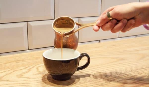 Кофе на молоке в турке по пошаговому рецепту с фото