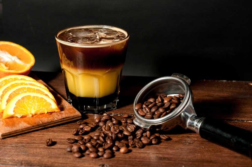 трехслойный кофе в домашних условиях